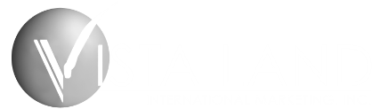 Vista Land International Logo White