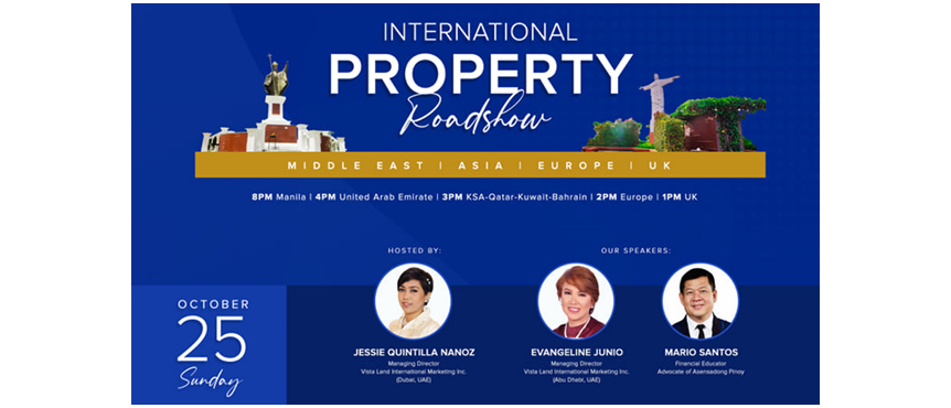 Golden Haven International Property Roadshow, house and lot Philippines