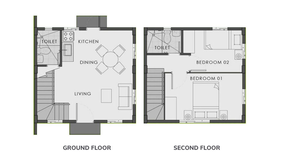 Designer 110 with Balcony Floor Plan