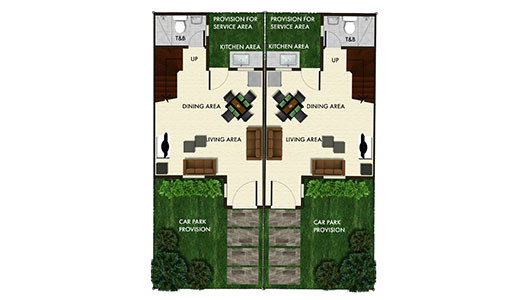 Angeli Duplex Floor Plan