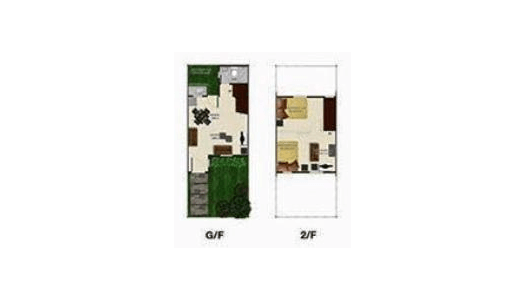 Angeli Townhouse Floor Plan