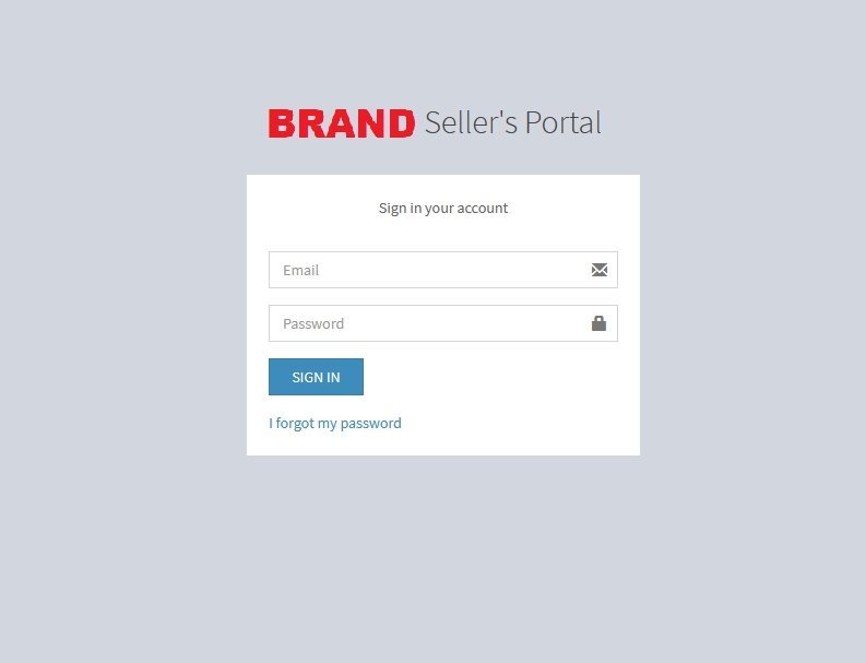 brand sellers portal for each of the developers